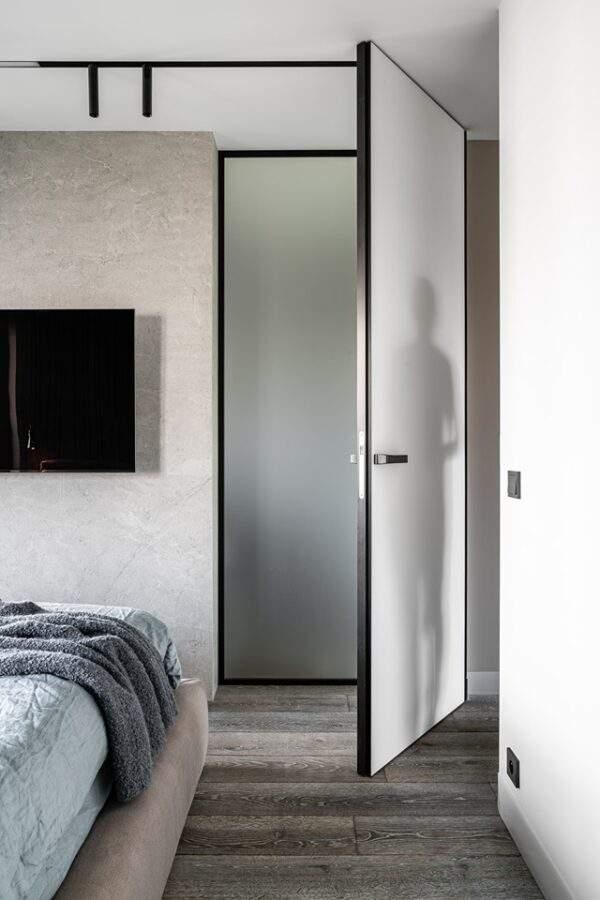 Drzwi wysokie